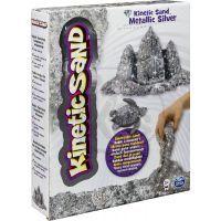 Kinetic Sand Metallic - Stříbrná
