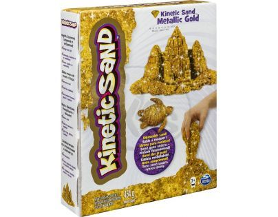 Kinetic Sand Metallic - Zlatá