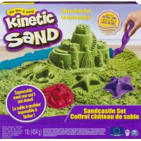 Kinetic Sand Písečný Zámek zelený