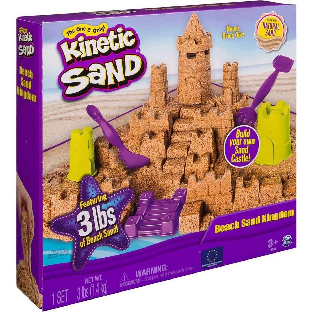 Kinetic Sand veľký piesočný hrad - Poškodený obal