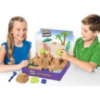 Kinetic Sand velký písečný hrad 4
