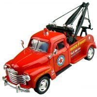 Kinsmart Auto Chevrolet 3100 Wrecker 1953 - Červené