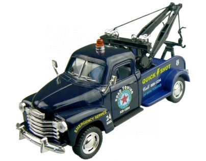 Kinsmart Auto Chevrolet 3100 Wrecker 1953 - Modré