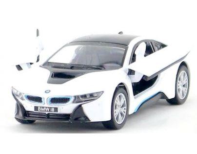 Kinsmart Auto BMW i8 - Bílá