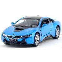 Kinsmart Auto BMW i8 - Modrá 2