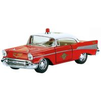 Kinsmart Auto 1957 Chevrolet Bel Air Fire Chief