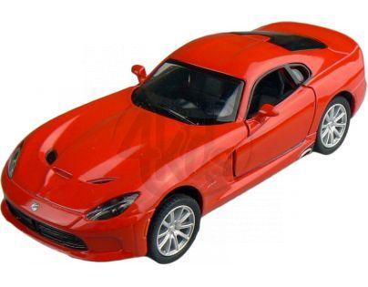 Kinsmart Auto Dodge Viper GTS 12 cm - Červená