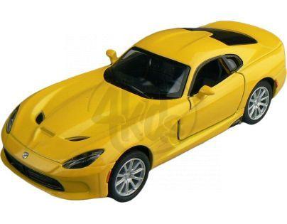 Kinsmart Auto Dodge Viper GTS 12 cm - Žlutá
