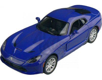 Kinsmart Auto Dodge Viper GTS 12 cm - Modrá