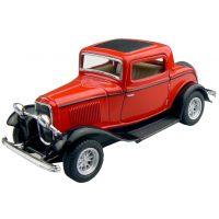 Kinsmart Auto Ford 3 Window Coupe - Červený