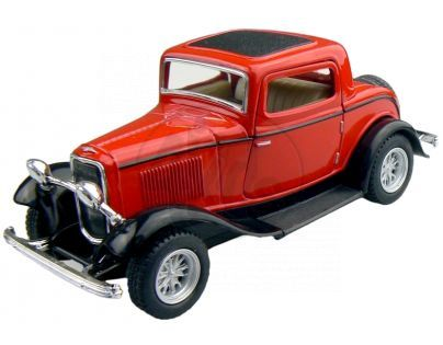 Kinsmart Auto Ford 3 Window Coupe - Červený