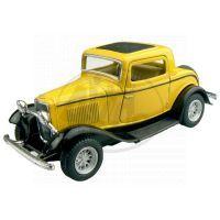 Kinsmart Auto Ford 3 Window Coupe - Žlutý