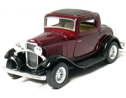 Kinsmart Auto Ford 3 Window Coupe - Vínový