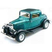 Kinsmart Auto Ford 3 Window Coupe - Zelený