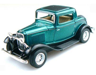 Kinsmart Auto Ford 3 Window Coupe - Zelený