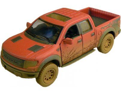 Kinsmart Auto Ford F-150 SVT Raptor 12 cm - Červená