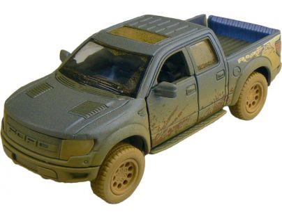 Kinsmart Auto Ford F-150 SVT Raptor 12 cm - Modrá