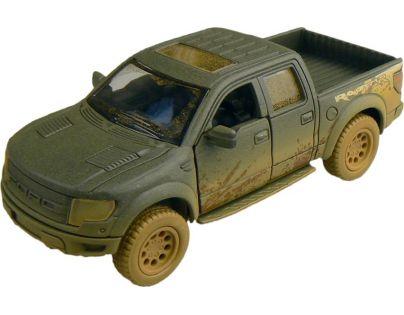 Kinsmart Auto Ford F-150 SVT Raptor 12 cm - Zelená