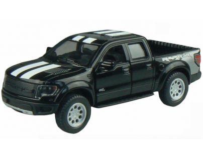 Kinsmart Auto Ford F-150 SVT Raptor Supercrew 12,5cm - Černá