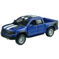 Kinsmart Auto Ford F-150 SVT Raptor Supercrew 12,5cm - Modrá