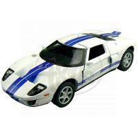 Kinsmart Auto Ford GT - Bílé