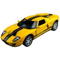 Kinsmart Auto Ford GT - Žluté