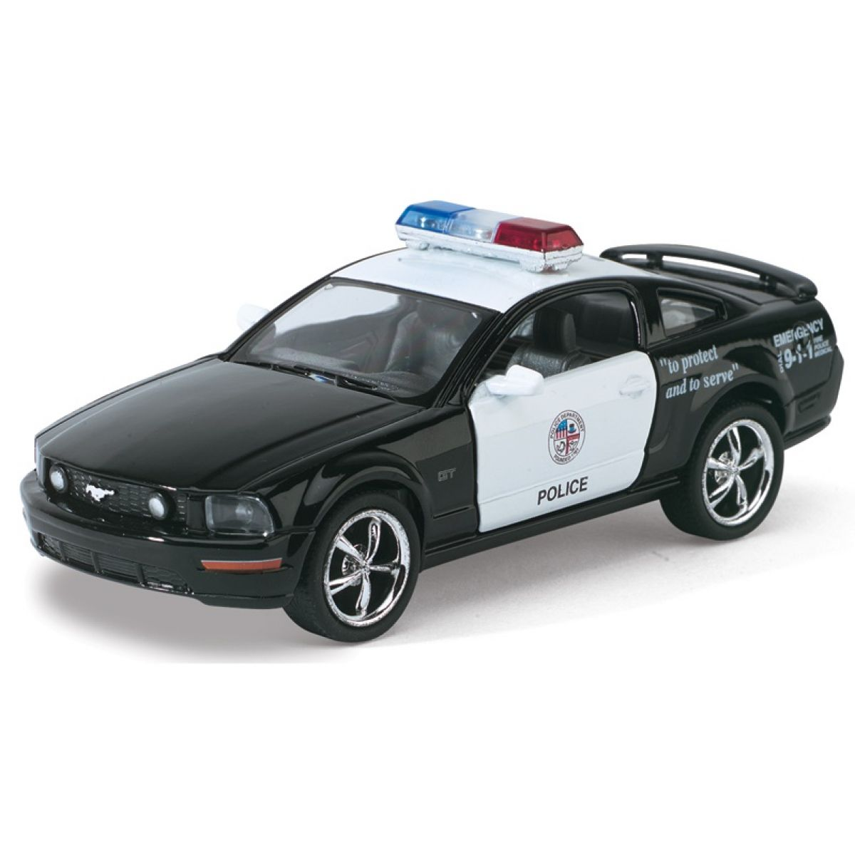 HM Studio Ford Mustang GT Policie