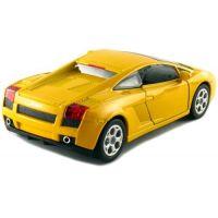 Kinsmart Auto Lamborghini Gallardo na zpětné natažení 12cm - Žlutá 2