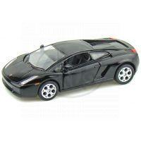 Kinsmart Auto Lamborghini Gallardo na zpětné natažení 12cm - Černá
