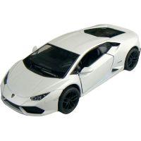 Kinsmart Auto Lamborghini Huracan 12cm - Bílá