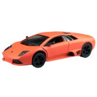 Kinsmart Auto Lamborghini na zpětné natažení 13 cm - Murcielago oranžové