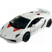 Kinsmart Auto Lamborghini Sesto Elemento 12 cm - Bílá