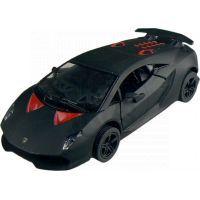 Kinsmart Auto Lamborghini Sesto Elemento 12 cm - Černá