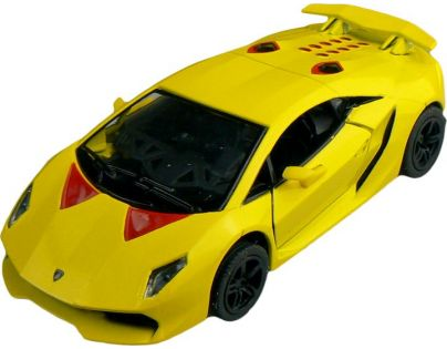 Kinsmart Auto Lamborghini Sesto Elemento 12 cm - Žlutá