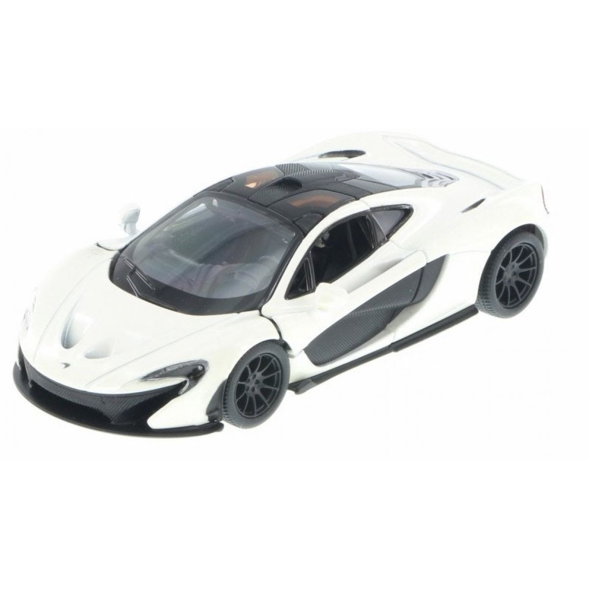Kinsmart Auto McLaren P1 - Bílá