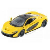 Kinsmart Auto McLaren P1 - Žlutá
