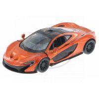 Kinsmart Auto McLaren P1 - Oranžová