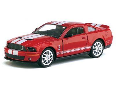 Kinsmart Auto Shelby Mustang GT500 kov 12cm na zpětné natažení