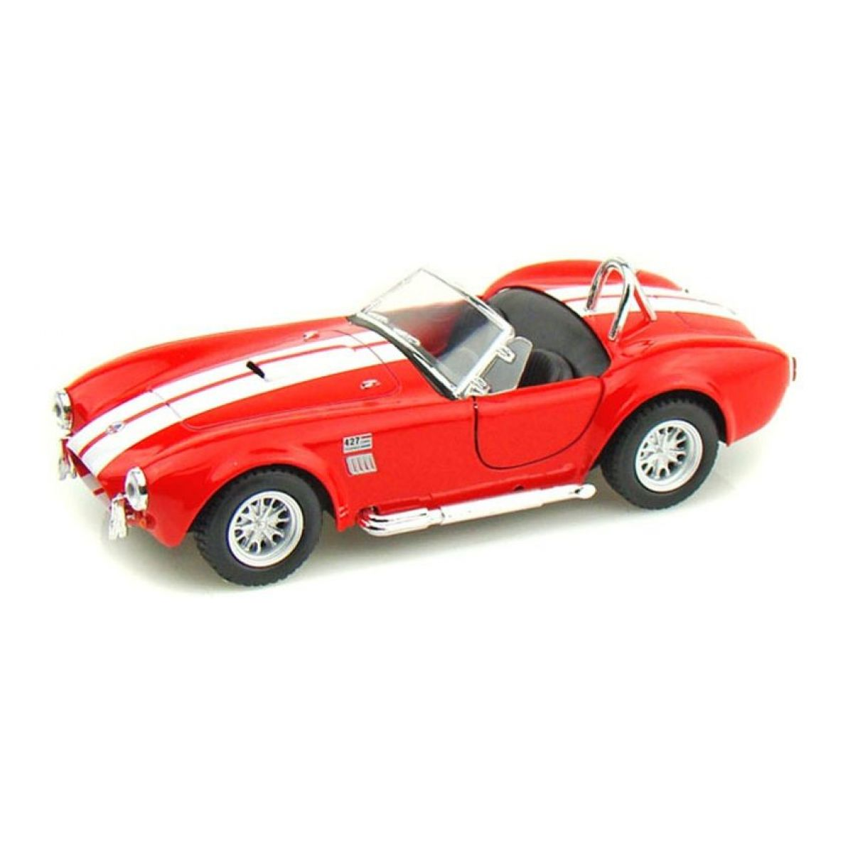 Kinsmart Auto Shelby Cobra 1965 na zpětné natažení - Červená