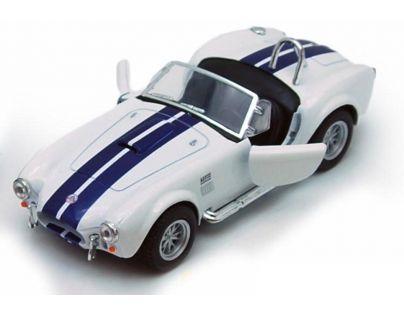 Kinsmart Auto Shelby Cobra 427 SC - Bílá