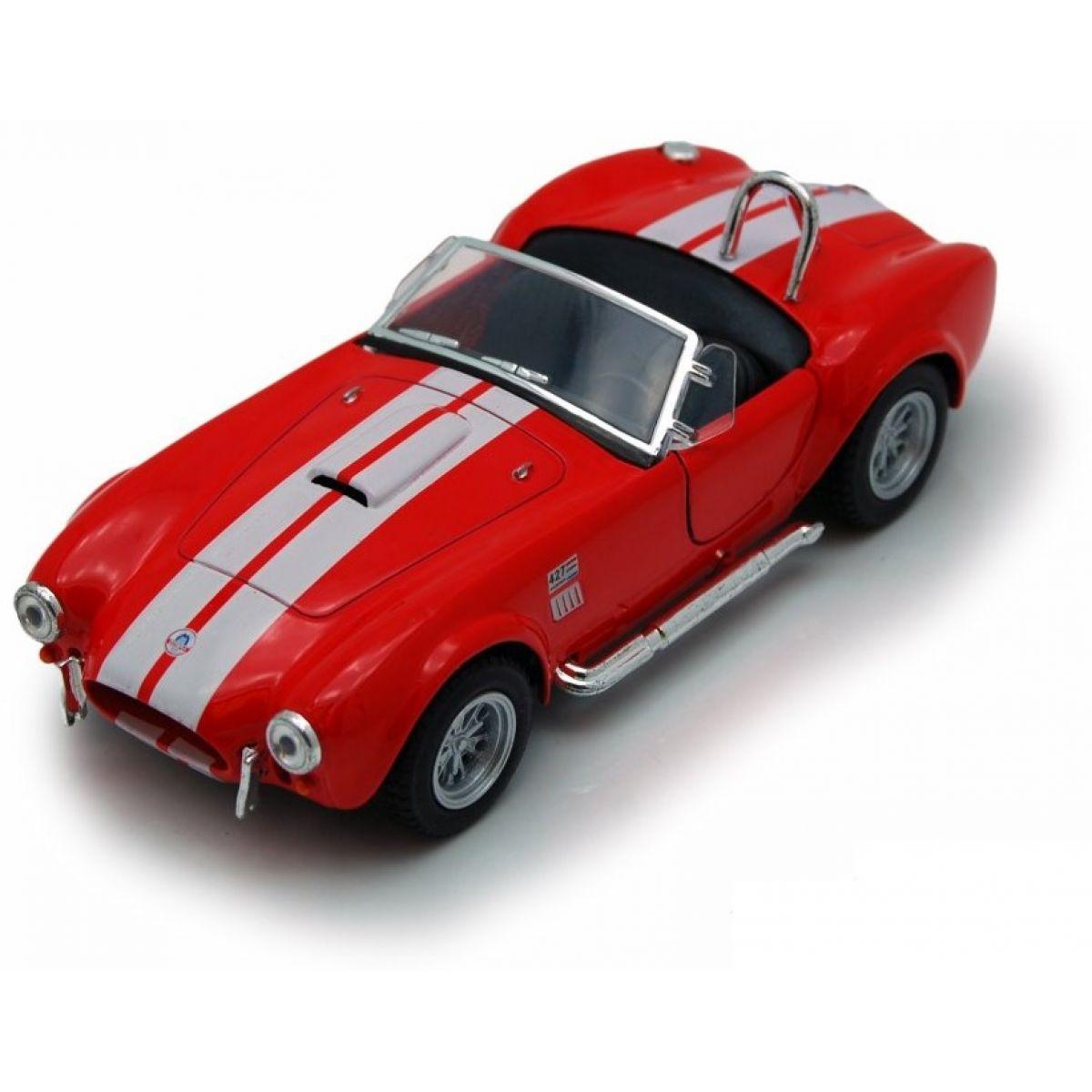 Kinsmart Auto Shelby Cobra 427 SC - Červená