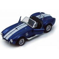 Kinsmart Auto Shelby Cobra 427 S/C - Modrá