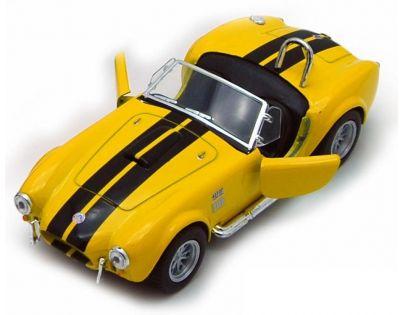 Kinsmart Auto Shelby Cobra 427 S/C - Žlutá