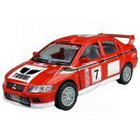 Kinsmart Auto Sportovní na zpětné natažení - Mitsubishi Lancer Evolution