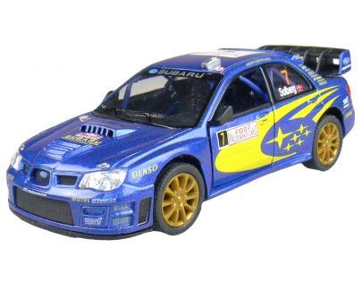 Kinsmart Auto Sportovní na zpětné natažení - Subaru Impreza WRC