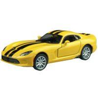 Kinsmart Auto SRT Viper GTS - Žlutá