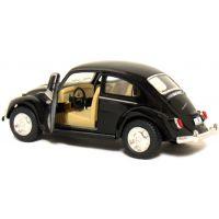 Kinsmart Auto Volkswagen Beetle na zpětné natažení - Černá 4