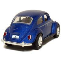 Kinsmart Auto Volkswagen Beetle na zpětné natažení - Modrá 2