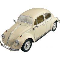Kinsmart Auto VW Classical Beetle 1967 - Krémová