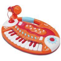 Alltoys Klávesy dětské 18 kláves a mikrofon